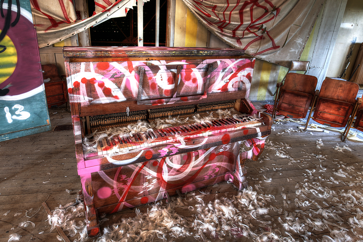 Feathered Piano