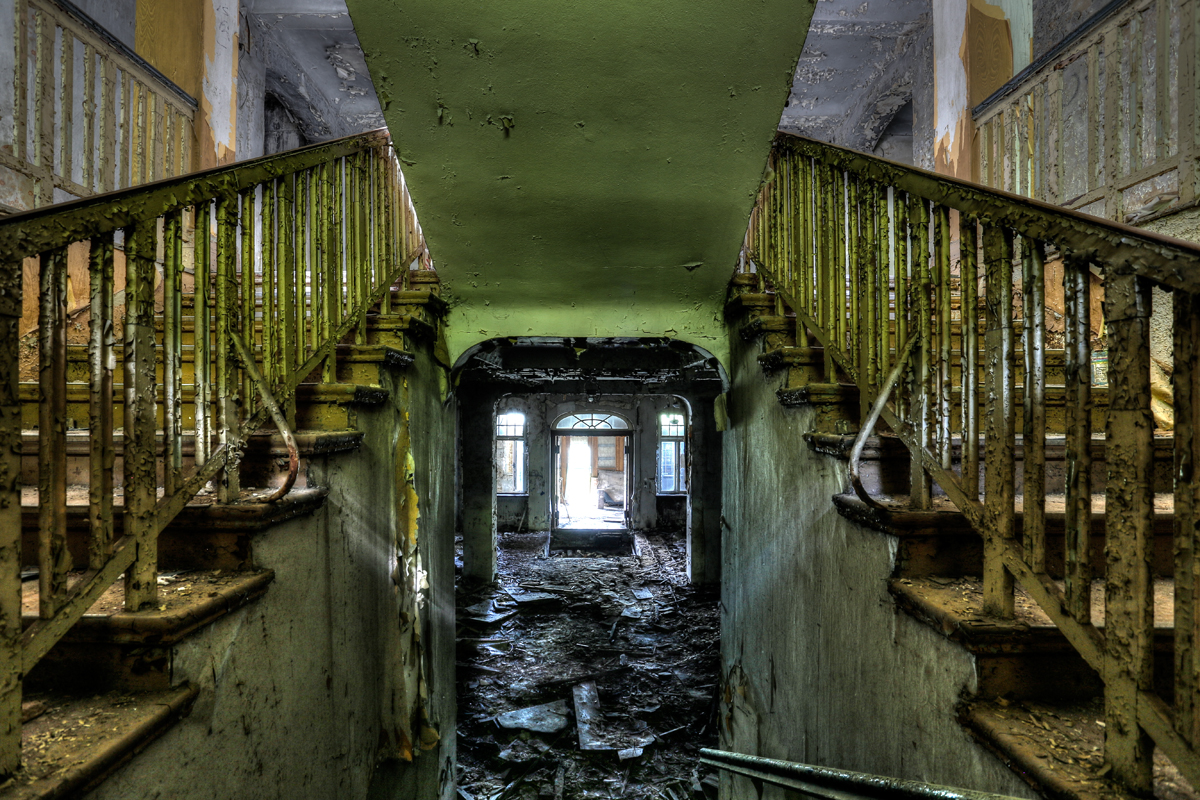 Sanatorium Stairs 1